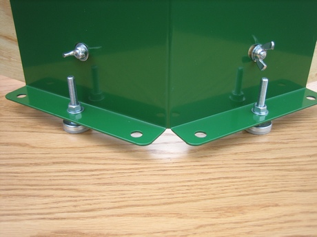 Adjustable base feet