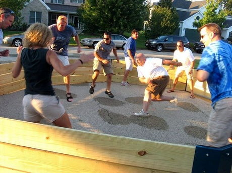 A geated game of gaga ball