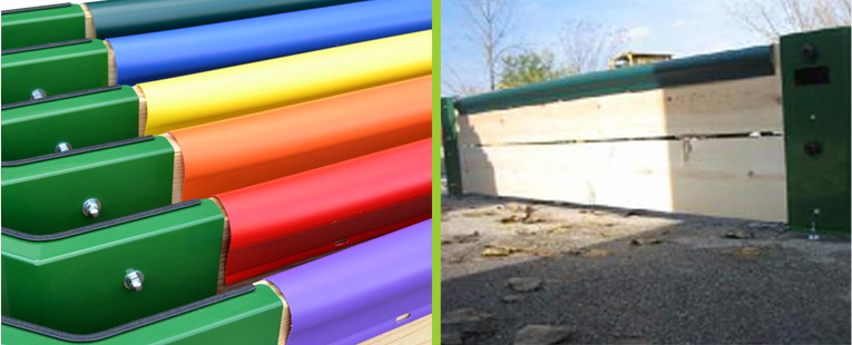 Gaga Ball Pits Wall Top Cover